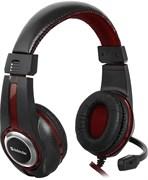 (1019706) Гарнитура GAMING WARHEAD G-185 BLACK/RED 64106 DEFENDER