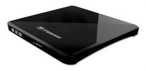 (1001716) Вешний оптический привод Transcend TS8XDVDS-K DVD+/-RW Transcend Ультратонкий портативный пишущий DVD-привод