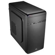 (1004287) Корпус Aerocool Qs-180 черный w/o PSU mATX SECC 2*120mm 1*80mm fan 2*USB2.0 USB3.0 e-SATA audio HD s