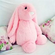 """(1017629) Мягкая игрушка """"Зайчик Лесли"""", цвет розовый, 65 см 2721457"""