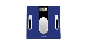 (1018652) Весы напольные электронные Starwind SSP6050 макс.180кг синий