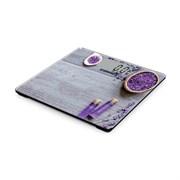 (1018650) Весы напольные электронные Starwind SSP6031 макс.180кг рисунок/фиолетовый