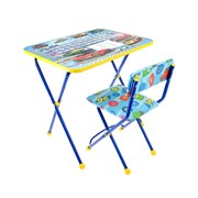 """(1017634) Набор детской мебели """"Познайка: Большие гонки"""" складной, цвета стула МИКС 618038"""