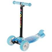(1020825) Самокат стальной, колеса световые PU d=11/4 см, ABEC 7, до 60 кг, цвет голубой   4045112
