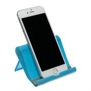(1020446) Подставка для телефона LuazON, складная, регулируемая высота, синяя   3916108