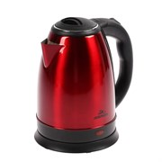 """(1020460) Чайник электрический """"Добрыня"""" DO-1224, 1800 Вт, 1.8 л, металл, красный 4344299"""
