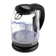 (1020466) Чайник электрический Sakura SA-2718DBK, стеклянный, 2200 Вт, 1.7 л, с управлением, черный 5136414