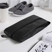 (1020876) Сумка для обуви 37*10*16, 1 отд на молнии, чёрный   2577909