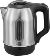(1020371) Чайник Supra KES-1807SW 1.8л. 1500Вт серебристый/черный (нержавеющая сталь)