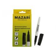 (1017321) Маркер перманентный 1.5 мм MAZARI Belar М-5004 чёрный