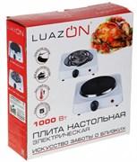 (1018468) Плитка электрическая LuazON LHP-002, 1000 Вт, 1 конфорка, чёрная 3548890