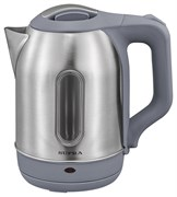 (1019886) Чайник Supra KES-1808SW 1.8л. 1500Вт нержавеющая сталь/серый (нержавеющая сталь)