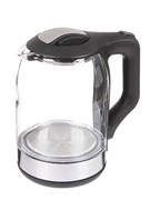 (1019887) Чайник Supra KES-1888G 1.8л. 1500Вт черный/серебристый (стекло)