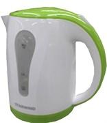(1018642) Чайник Starwind SKP2215 1.8л. 2200Вт белый/зеленый (пластик)