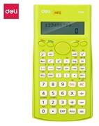 (1021130) Калькулятор научный Deli E1710A/GRN зеленый 10+2-разр.