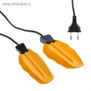 (1017120) Сушилка для обуви Luazon LSO-06, 13 см, индикатор работы, жёлтая 609435