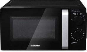 (1022067) Микроволновая Печь Starwind SMW2520 20л. 700Вт черный/серебристый