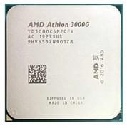 (1021973) Процессор AMD Athlon 3000G AM4 (YD3000C6M2OFH) (3.5GHz/100MHz/ Vega 3) Tray