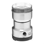 (1023212) Кофемолка электрическая Irit IR-5017, 120 Вт, 85 г, серебристая 5350117