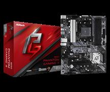 (1023482) Материнская плата Asrock B550 PHANTOM GAMING 4 Soc-AM4 AMD B550 4xDDR4 ATX AC`97 8ch(7.1) GbLAN RAID+HDMI