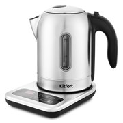 (1023109) Чайник Kitfort КТ-658 1.7л. 2200Вт нержавеющая сталь (нержавеющая сталь)