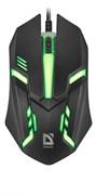 (1023487) Мышка USB OPTICAL HIT MB-550 BLACK 52550 DEFENDER