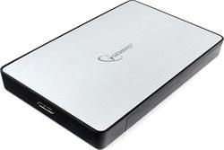 """(1020056) Внешний корпус 2.5"""" Gembird EE2-U3S-31P, серебро, USB 3.0, SATA, пластик/металл"""