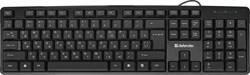 (1023894) Клавиатура USB NEXT HB-440 RU BLACK 45440 DEFENDER