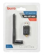 (1019723) Адаптер USB Buro BU-BT40С Bluetooth 4.0+EDR class 1 100м черный