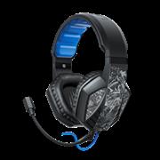 (1022005) Наушники с микрофоном Hama uRage SoundZ 310 черный/серый 2.5м накладные USB (00186023)