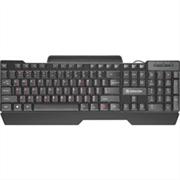(1021518) Проводная клавиатура Search HB-790 RU,черный,полноразмерная DEFENDER