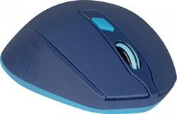 (1021529) Беспроводная оптическая мышь Genesis MM-785 синий,6 кнопок, 1200-2400 dpi DEFENDER
