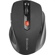 (1024466) Беспроводная оптическая мышь Defender Ultra MM-315 черный,6 кнопок, 800-1600 dpi