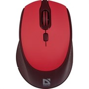 (1024467) Беспроводная оптическая мышь Defender Genesis MB-795 красный,4 кнопки,1200-2400 dpi