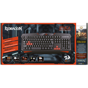 (1024524) Игровая клавитура Redragon Xenica чёрная (мембранная, USB)