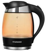 (1024323) Чайник Starwind SKG2212 1.8л. 2200Вт оранжевый/черный (стекло)