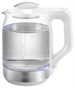 (1023110) Чайник Supra KES-1890G 1.8л. 1500Вт белый/серебристый (стекло)