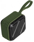 (1021968) Портативная акустическая система CROWN CMPBS-51 green (1*5W,BT 5.0,IPX7,1200mAh, пластик/металл)