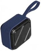 (1021967) Портативная акустическая система CROWN CMPBS-51 blue (1*5W,BT 5.0,IPX7,1200mAh, пластик/металл)
