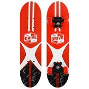 """(1024740) Скейтборд подростковый """"SPORTS DRIVE LIFE"""" 62 х 16 см, колеса PVC 50 мм, пластиковая рама 4013659"""