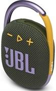 (1024893) Динамик JBL Портативная акустическая система  JBL CLIP 4, зеленая