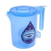 "(1025072) Чайник электрический ""Капелька"", пластик, 0.5 л, 600 Вт, синий 1896705"