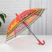 (1024684) Зонт дет п/авт R40 8спиц ПВХ Пожарная машина оранж 2484746