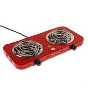(1025110) Плитка электрическая ENERGY EN-904R, 2000 Вт, 2 конфорки, красная 4325206