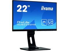 (1023423) Монитор жидкокристаллический Iiyama XUB2292HS-B1 Монитор LCD 21.5'' [16:9] 1920х1080(FHD) IPS, nonGLARE, 250cd/m2, H178°/V178°, 1000:1, 80M:1, 16.7M, 4ms, VGA, HDMI, DP, Height adj, Tilt, Swivel, Speakers, 3Y, Black