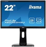 (1023415) Монитор жидкокристаллический Iiyama X2283HS-B5 Монитор LCD 21.5'' 16:9 1920х1080(FHD) VA, nonGLARE, 250cd/m2, H178°/V178°, 3000:1, 80M:1, 16.7M Color, 4ms, VGA, HDMI, DP, Tilt, Speakers, Audio out, 3Y, Black