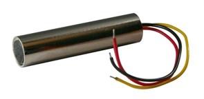 (1009876) Шорох-8 микрофон с АРУ активный дальность до 10м  DC5…12V 0,03A  t -10...+50°С  Габариты D10x47