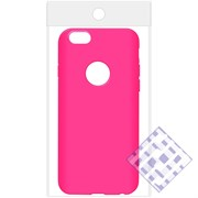 (1010084) Накладка силиконовая для iPhone 6/6S (pink) техупаковка