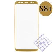 (1010078) Стекло защитное 3D Krutoff Group для Samsung Galaxy S8+ gold