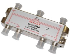 """(1010256) Rexant Делитель ТВ х 6 под F разъём 5-2500 МГц """"Спутник"""""""